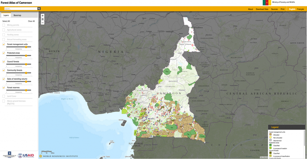 Forest Atlas of Cameroon
