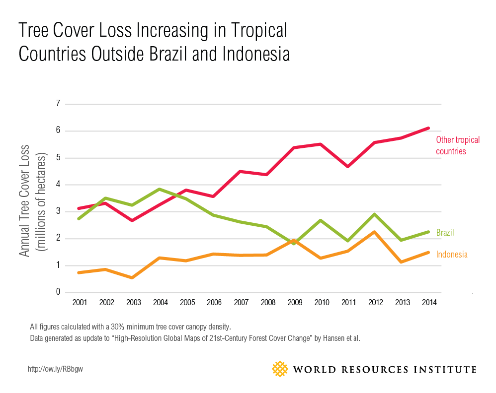 Tropical Tree Cover Loss