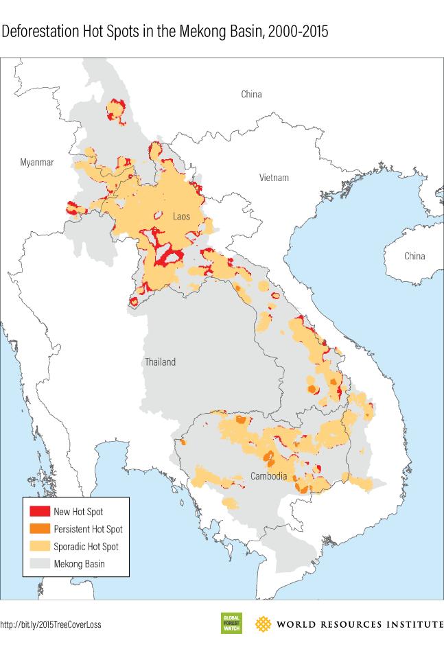 Mekong 2015 Hot Spots